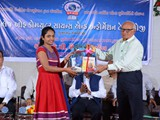 Prize Distribution by Dr. G. T. Ladanisir