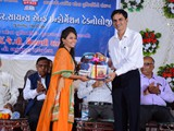 Prize Distribution by Shri G. R. Kansagrasir