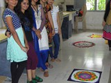 Rangoli Making Compeition