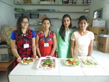 Salad Decoration Competition